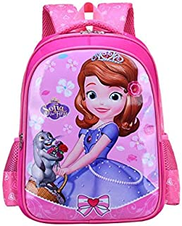 Disney Little Princess Sophia School Bag Backpack 26x38cm for primary school students