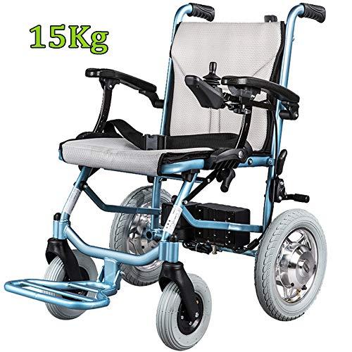 Elektrische Rollstühle Leichtgewicht Und Faltbar Mit Lithium-Batterie,elektrischer Rollstuhl Elektromobil Leicht Klappbar Aluminium Elektrorollstuhl Scooter Wheelchair Electric Senioren