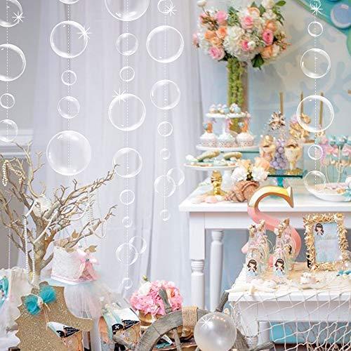 Transparent Bubble Party decoration Garland
