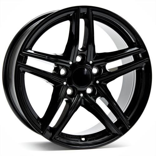 Borbet XR black glossy 8x17 ET30 5.00x120 Hub Bore 72.50 mm - Alu felgen