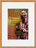 Lee Scratch Perry - March 2019 Tour Dates (Oak Veneer Frame) Framed Mini Poster - 28.5x23.5cm