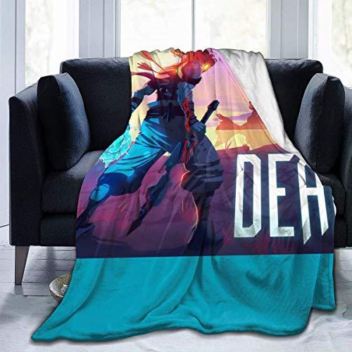 Engshi Mantas para Cama Dead Cells Soft and Warm Throw Blanket Digital Printed Ultra-Soft Micro Fleece Blanket