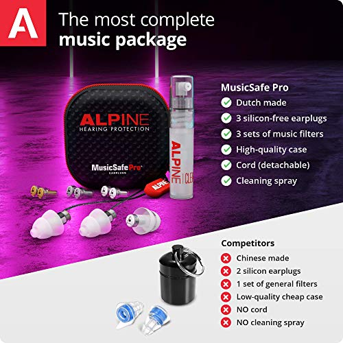 Alpine MusicSafe Pro Gehörschutz Ohrstöpsel für Musiker - 5