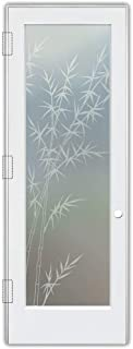 Best sandblasted glass interior doors Reviews