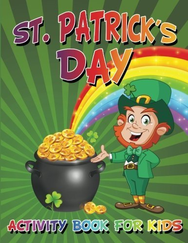 St. Patrick's Day Activity Book For Kids by My Day Books (2015-01-28)