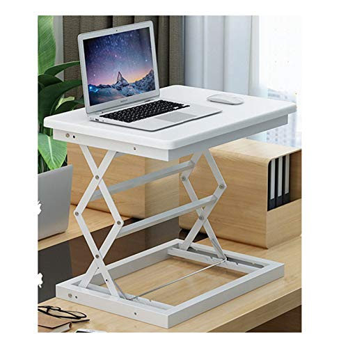 Stehender Schreibtisch-Konverter Einstellbare Höhe, Faltbares Notebook-Tisch Für Unternehmen/Familieneinsatz Verfügbar (Farbe : B)