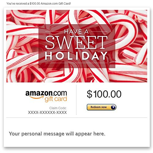 Amazon eGift Card - Have a Sweet Holiday