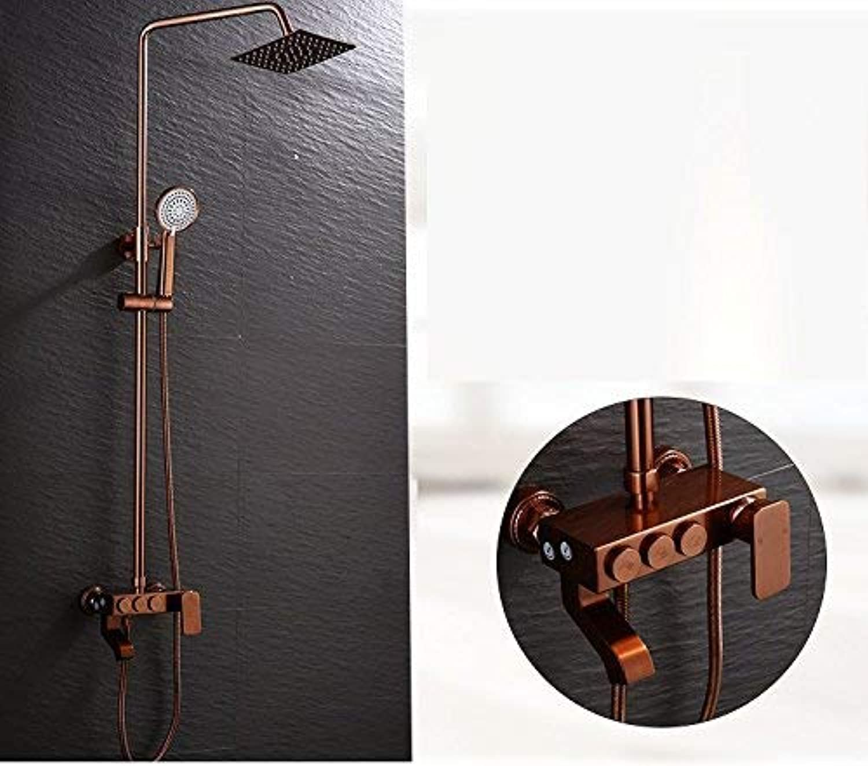 HSDDA Badezimmer-Niederschlag Shower Mixer Set Shower Shower mit Dusche und Dusche Duschkopf