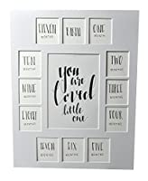 All Things For Mom First Year フォトピクチャーマット with You are Loved Little One – Birth Through 1 Year 11x14マット – フレーム13開口部なし 11x14 YRLMWHITE