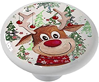 Rudolph's Christmas Drawer/Cabinet Knob by Gotham Decor