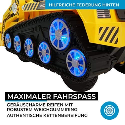 RC Auto kaufen Kinderauto Bild 6: Actionbikes Motors Kinder Elektro Radlader D2810 - 50 Watt Motor - Weichgummiring Reifen - 2,4 Ghz Fernbedienung - Soft Start*
