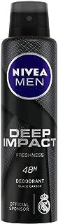 NIVEA MEN Deodorant, Deep Impact Freshness, 150ml