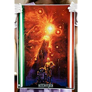 Star Wars Episode VI – Return of the Jedi 13 by 19 inch Starfall Poster Noriyoshi Ohrai