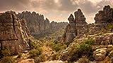 Picos De Las Montañas Andaluzas En España Pintura por Números DIY Único