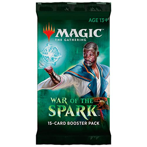 Magic The Gathering MTG BD-EN War of The Spark Booster Pack, Multi