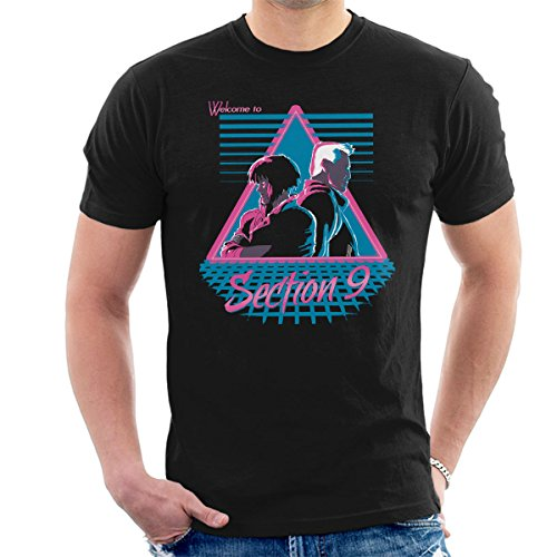 Cloud City 7 Welcome to Section 9 Ghost in A Shell Men's T-Shirt