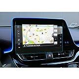 LFOTPP Toyota C-HR NGX50 ZYX10 Navegación Protector de Pantalla - 9H Cristal Vidrio Templado GPS Navi película protegida Glass