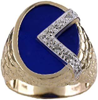 RYLOS Designer Ring With Diamonds and Blue Quartz Set in 14K Yellow Gold