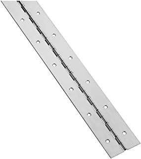 National Hardware N148-585 V570 Continuous Hinge in Nickel