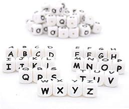 Amazon.es: letras silicona chupetero