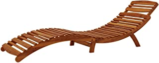 Timber Outdoor Foldable Sunbed Patio Beach Chair Tanning Lounge Setting