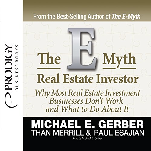 E-Myth Real Estate Investor audiobook cover art