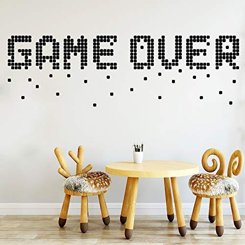 Divertido juego de pegatinas en la pared extraíble Diy wallpaper vinilo pegatinas decoración de la habitación de los niños pegatinas de pared20cm X 65cm