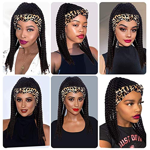 Braided wigs with headband _image3