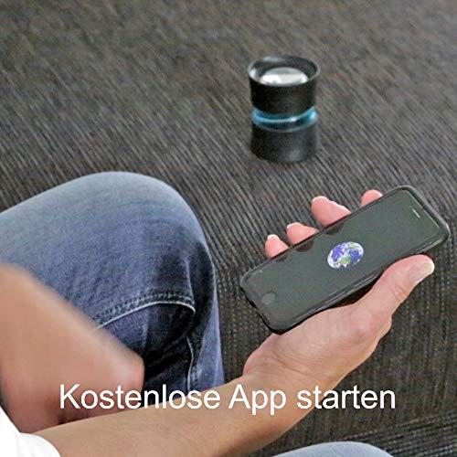 DreamMe ORBIT Einschlafhilfe Licht Metronom – schneller einschlafen – Handy wird zum Smartphone Projektor - 4