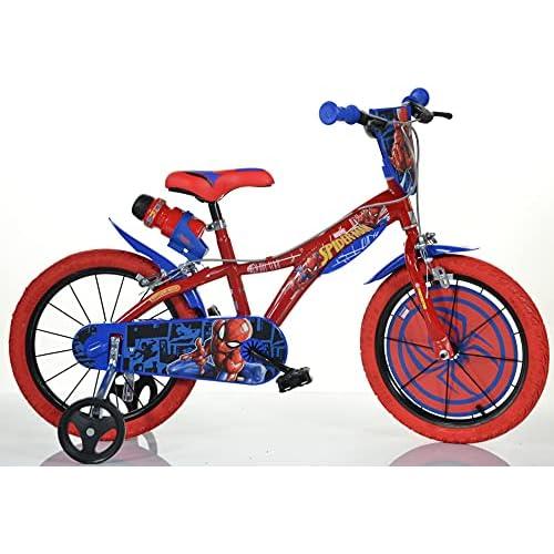 CICLI PUZONE Bici Dino Bikes 14 Spiderman 143 G-SA Nuovo Modello
