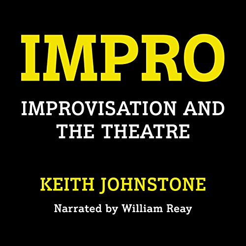 Impro Audiobook By Keith Johnstone cover art