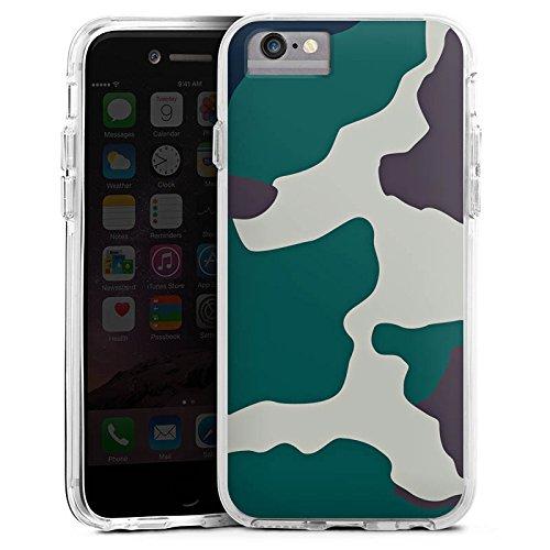 DeinDesign Apple iPhone 6s Bumper Hülle Bumper Case Schutzhülle Camouflage Bundeswehr Tarn Muster