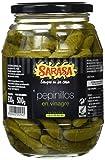 Sarasa Pepinillo Pequeño en Vinagre - Paquete de 6 x 1350 gr - Total: 8100 gr