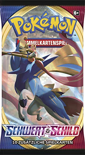 Pokemon Schwert & Schild - Serie 1 - 1 Booster - Deutsch