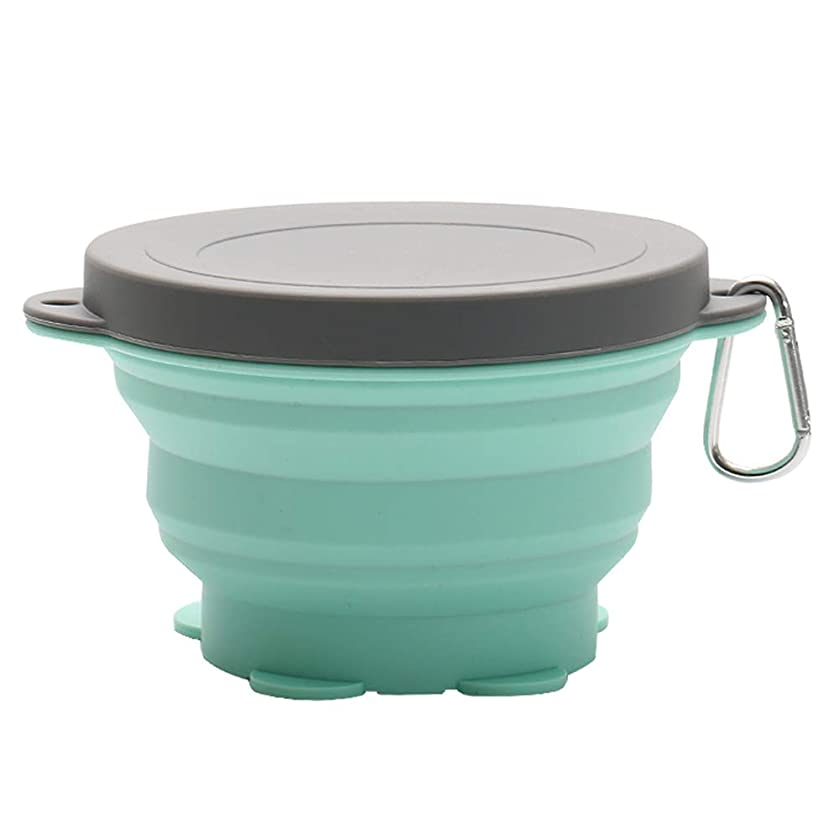 Silicone Collapsible Bowls Folding Travel Bowl for Camping Traveling Pets Hiking Backpacking Bowl size 720ml