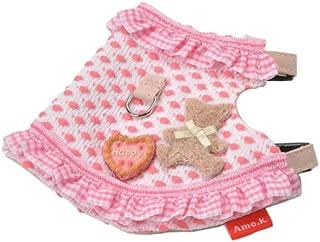 小狗 Amock 项圈 250001-0 狗猫宝宝H 小熊的生日 粉色 小狗小猫 L号