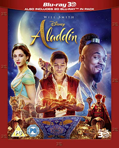 Disney's Aladdin Live Action [3D + Blu-ray] [2019] [Region Free]