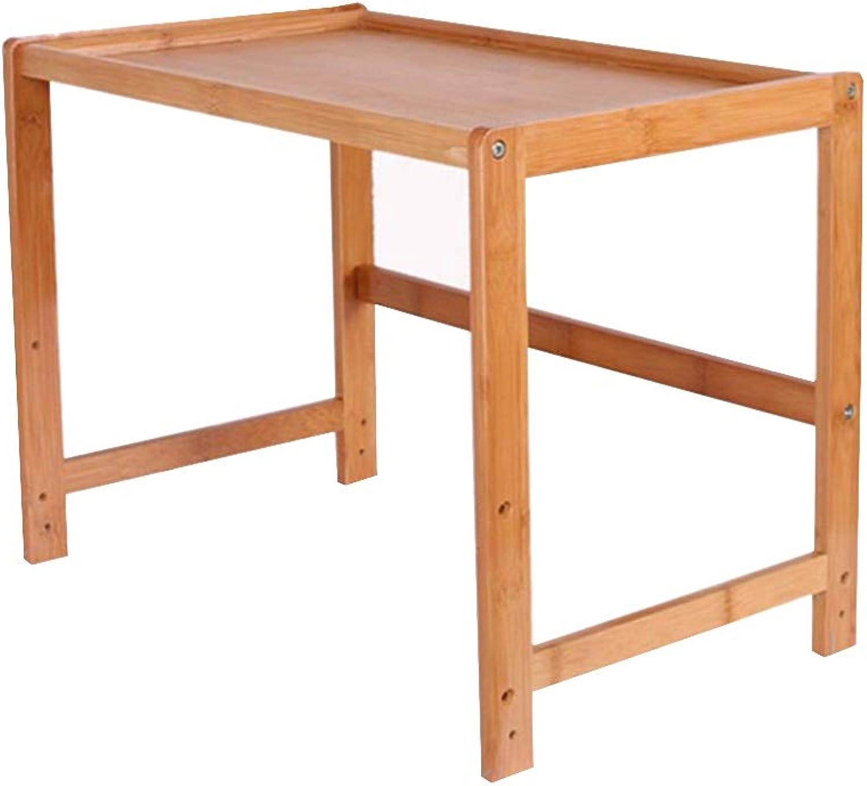 QINGJIU Mobiles Druckerregal Rack Schreibtisch Multi-Layer-Lagerregal für den Büro-Schreibtisch Kopierregal aus massivem Holz (enthlt keine im Rack platzierten Elemente) ( gre   433240cm )