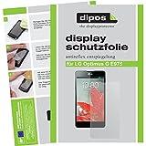 dipos I 4X Schutzfolie matt kompatibel mit LG Optimus G E975 Folie Bildschirmschutzfolie