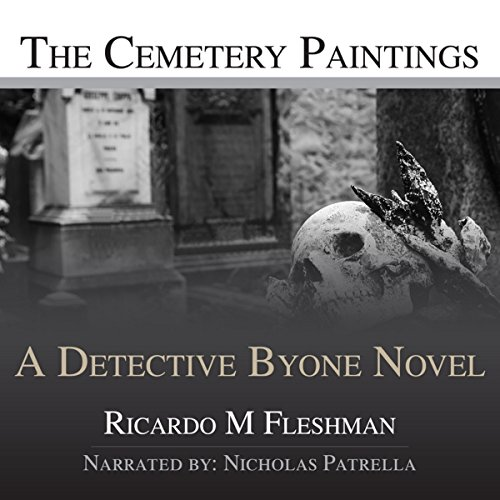 The Cemetery Paintings audiobook cover art