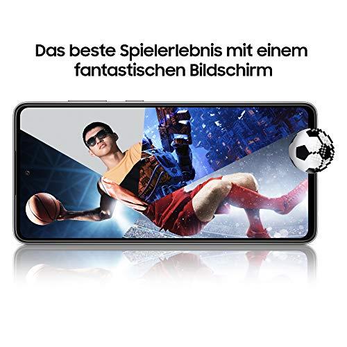 Samsung Galaxy A52 5G Smartphone ohne Vertrag 6.5 Zoll Infinity-O FHD+ Display, 128 GB Speicher, 4.500 mAh Akku und Super-Schnellladefunktion, blau, 30 Monate Herstellergarantie [Exklusiv bei Amazon] - 6