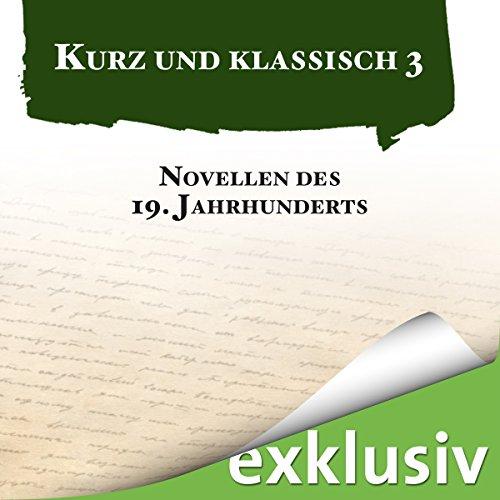 Novellen des 19. Jahrhunderts Titelbild