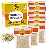 SEALUXE Rodent Repellent Packs, Natural Rat Repellent Granules, Mouse Repellent, Mint Mice Repellent, Peppermint Oil to Repel Mice and Rats 8 Pack