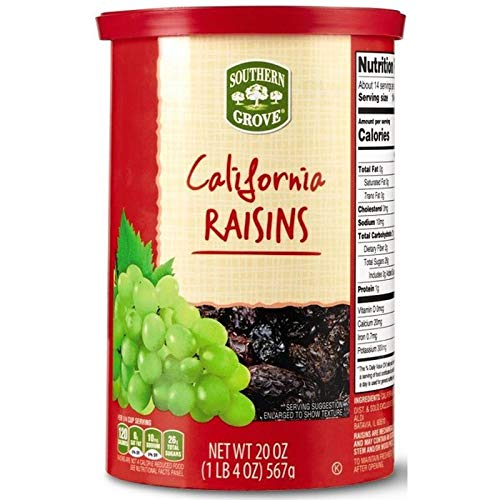Southern sale Daily bargain sale Grove Natural California Raisins Gluten-Free Kosher Dr