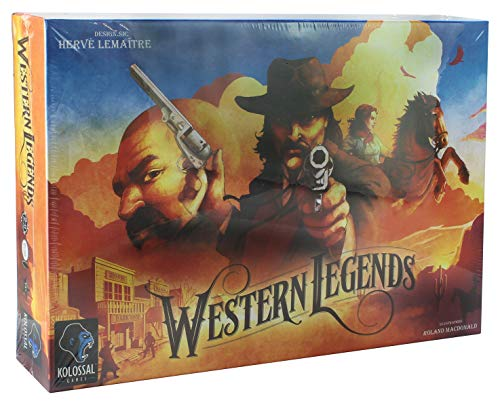 Kolossal Games: Western Legends Board Game - English