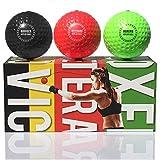 TEKXYZ リフレックスボール アップグレードセット - 快適なヘッドバンド 3つのリアクトリフレックスボール付き リフレックス/タイミング/正確/集中/手と目の協調トレーニングに最適 子供/大人/男性/女性用