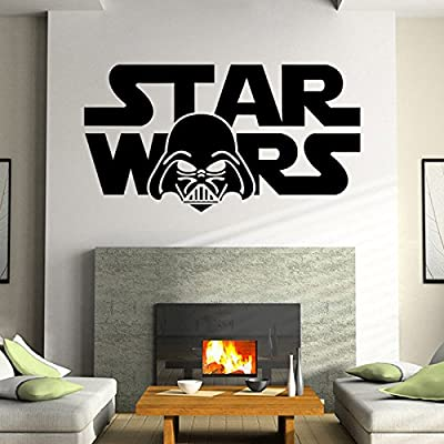 Luxbody(TM) Star Wars Peel and Stick Wall Stickers for Kids Boys Rooms PVC Cartoon Wall Decal Home Decoration Wallpaper Art Posters