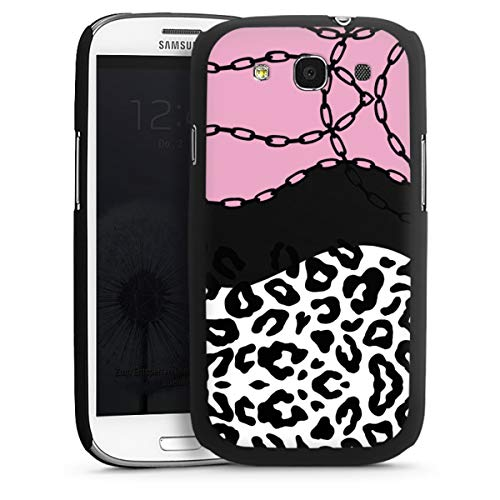 Hardcase compatibel met Samsung Galaxy S3 Telefoonhoesje Hoesje Luipaard print Transparant Luipaard