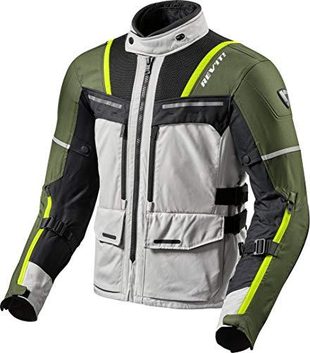 REV'IT! Chaqueta de moto con protectores, chaqueta de motociclismo Offtrack,...