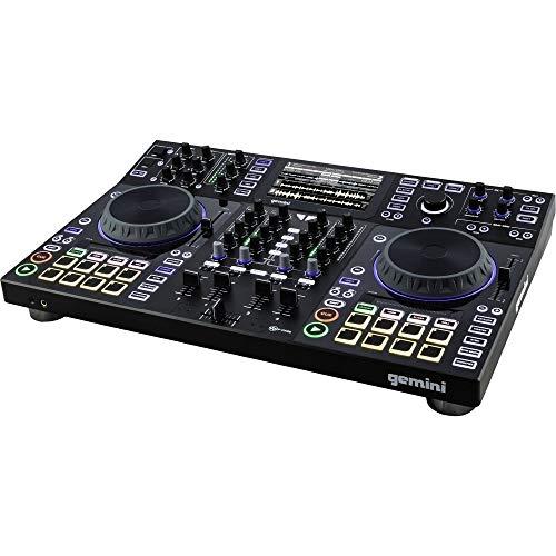 Gemini SDJ-4000 - Controller per DJ autonomo per lettore multimediale USB a doppia piattaforma